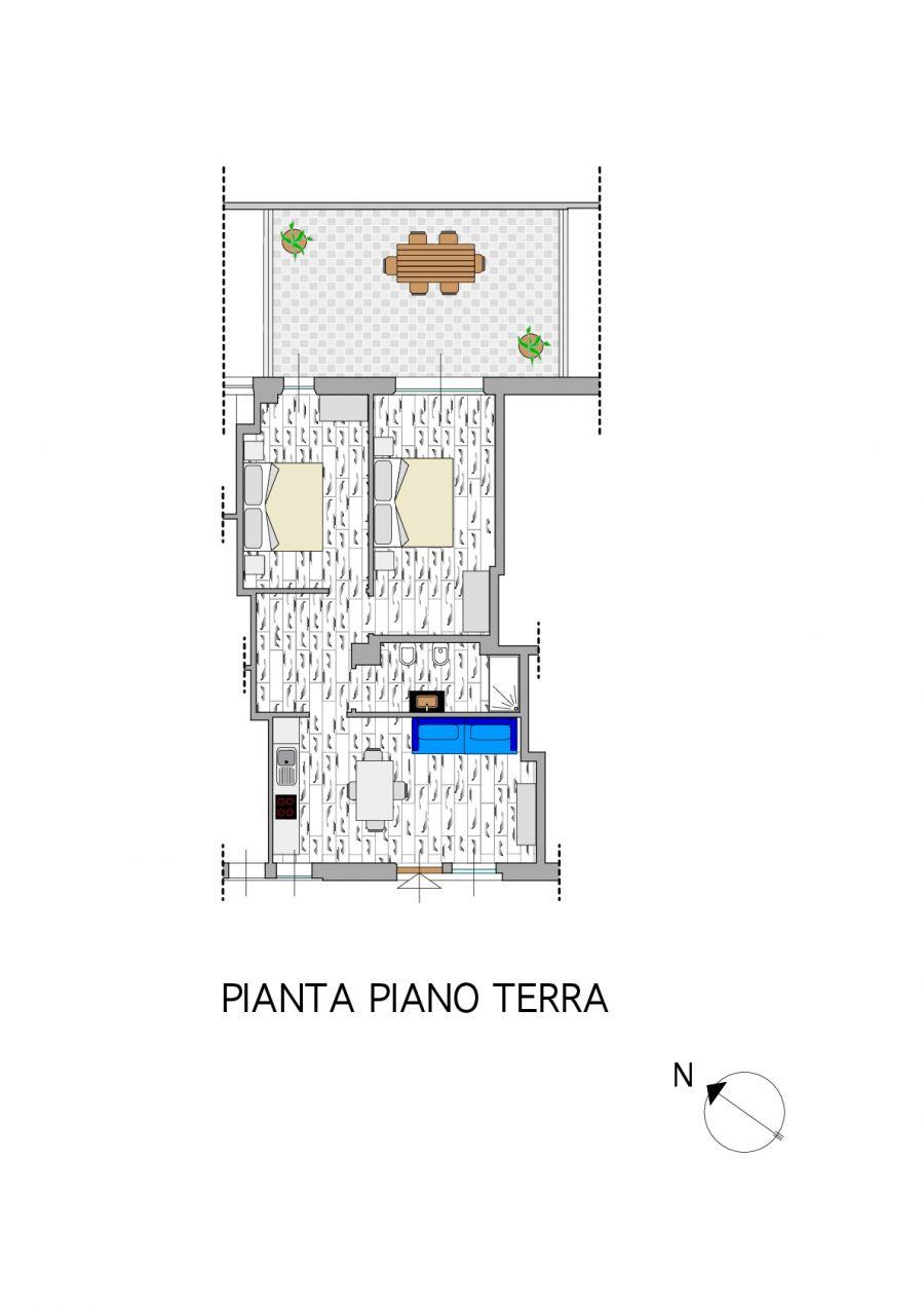 Plan Apartment Rina
