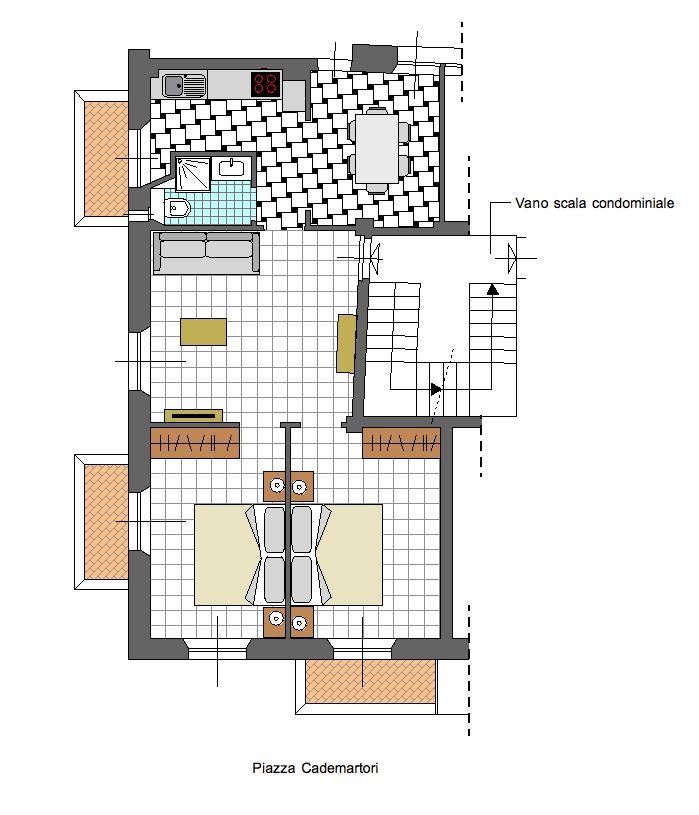 Planimetria Appartamento Lalla Fedè
